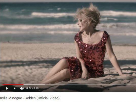 Golden von Kylie Minogue auf YouTube