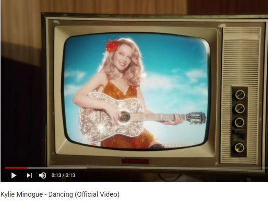 Dancing von Kylie Minogue auf YouTube