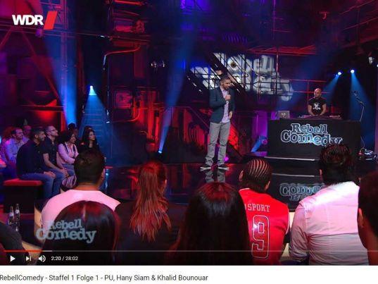 YouTube: RebellComedy - Staffel 1 Folge 1 - PU, Hany Siam & Khalid Bounouar