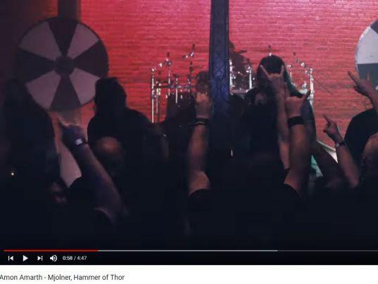 YouTube: Amon Amarth - Mjolner, Hammer of Thor