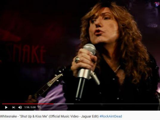 YouTube: Whitesnake - Shut Up & Kiss Me 2019