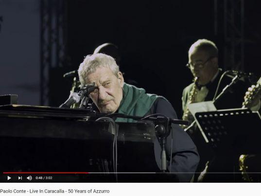 YouTube: Paolo Conte - Live In Caracalla