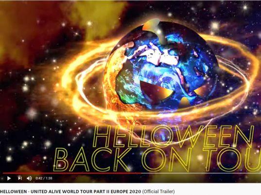 YouTube: United Alive World Tour Part II Europe 2020