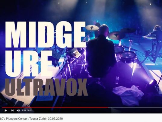 YouTube: 80s Pioneers Concert Teaser Zürich 30.05.2020