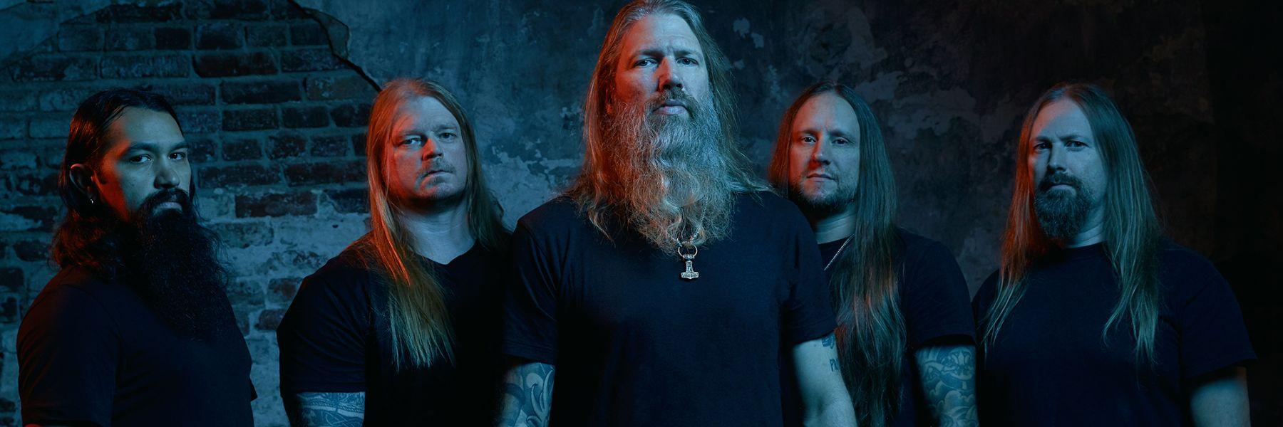 Konzert von Amon Amarth am 19.11.19 in der Samsung Hall
