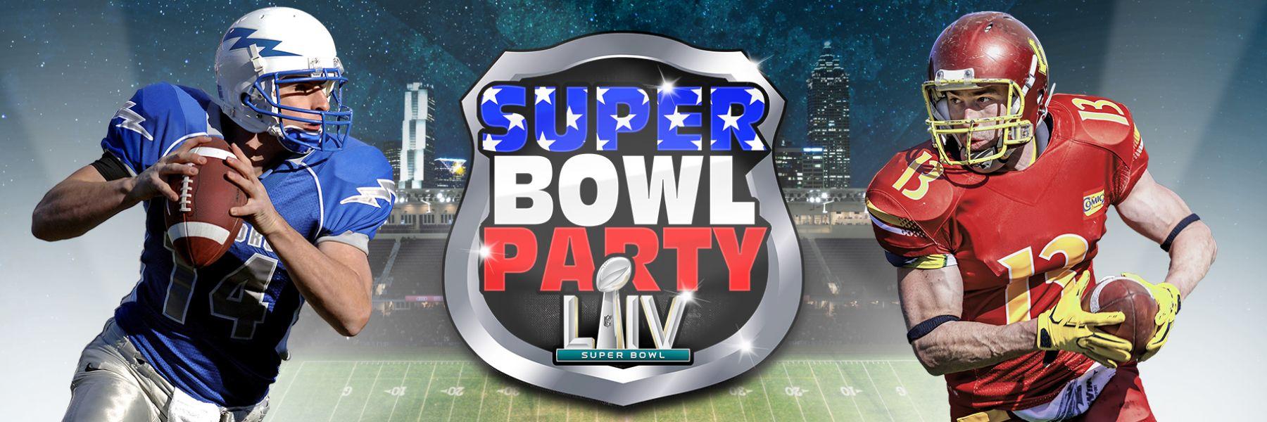 Super Bowl Party in der Samsung Hall 2020