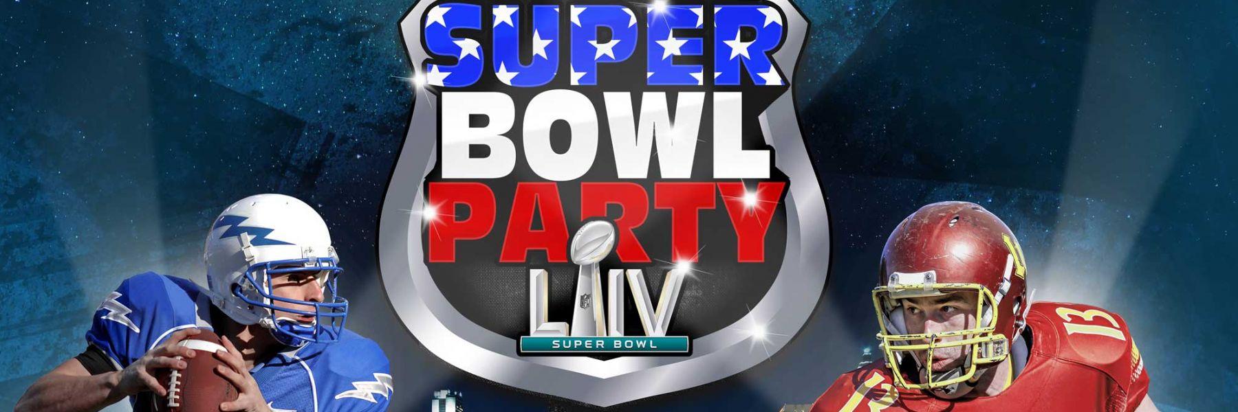 Super Bowl Party in der Samsung Hall 02.02.2020