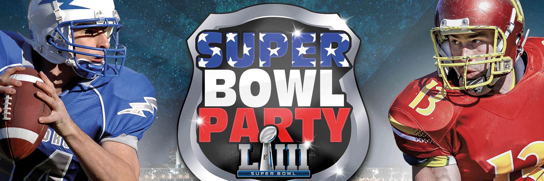Die grösste Super Bowl Party in Zürich am 3.2.2019 in der Samsung Hall