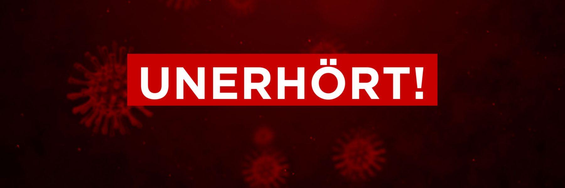"""Filmpremiere """"Unerhört!"""" vom 23.10.2020 der Dokfilm von Reto Brennwald"""