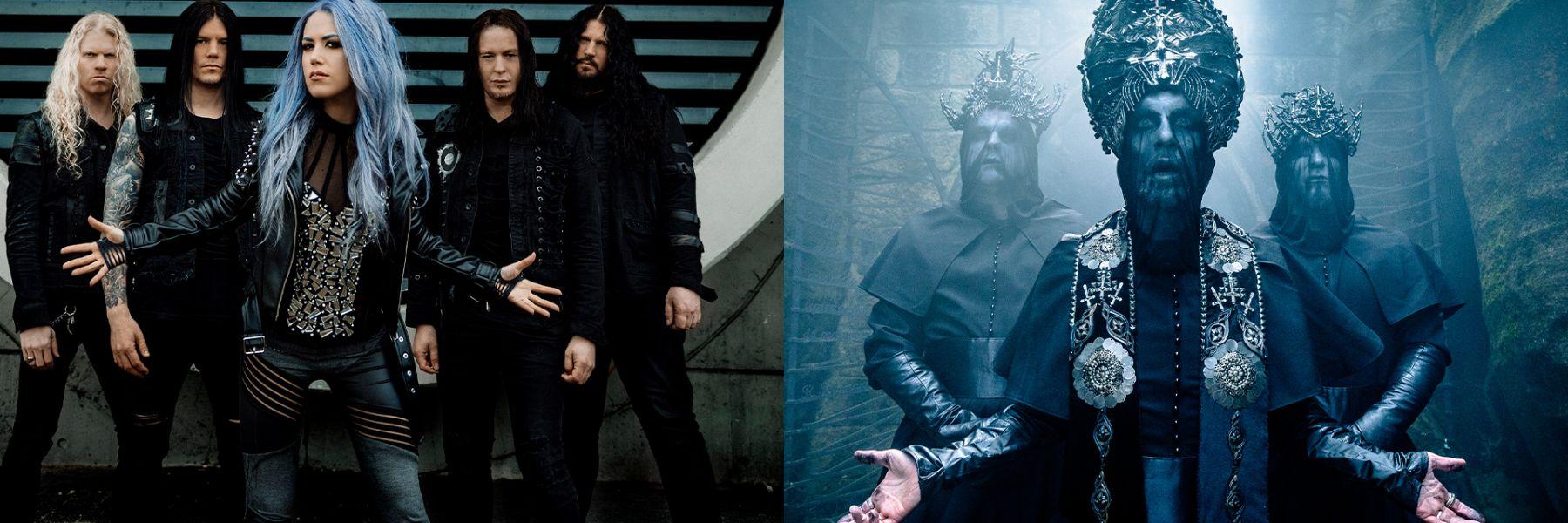 Arch Enemy & Behemoth The European Siege Tour 2021 in der Samsung Hall Zürich