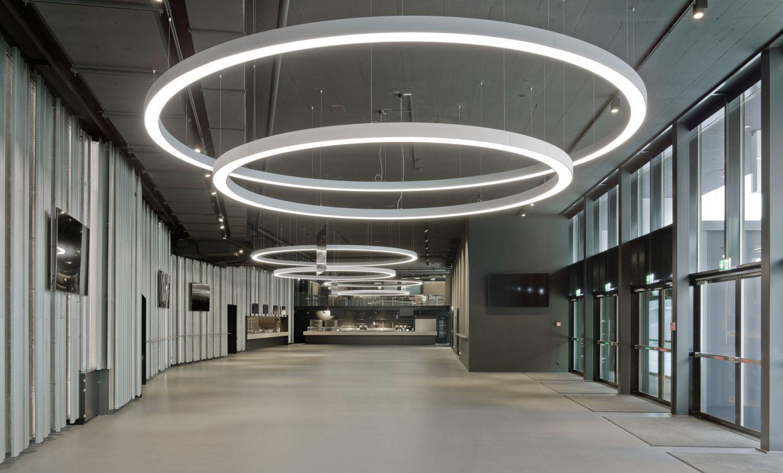 Foyer Hall der Samsung Hall Zürich
