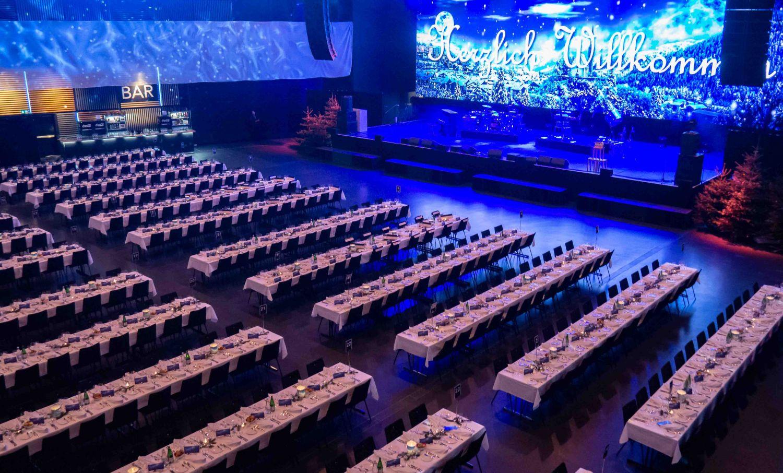 HALL die Räumlichkeit der Samsung Hall für grosse Events ab 500 Personen