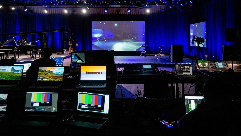 Livestream-Event in der Samsung Hall veranstalten