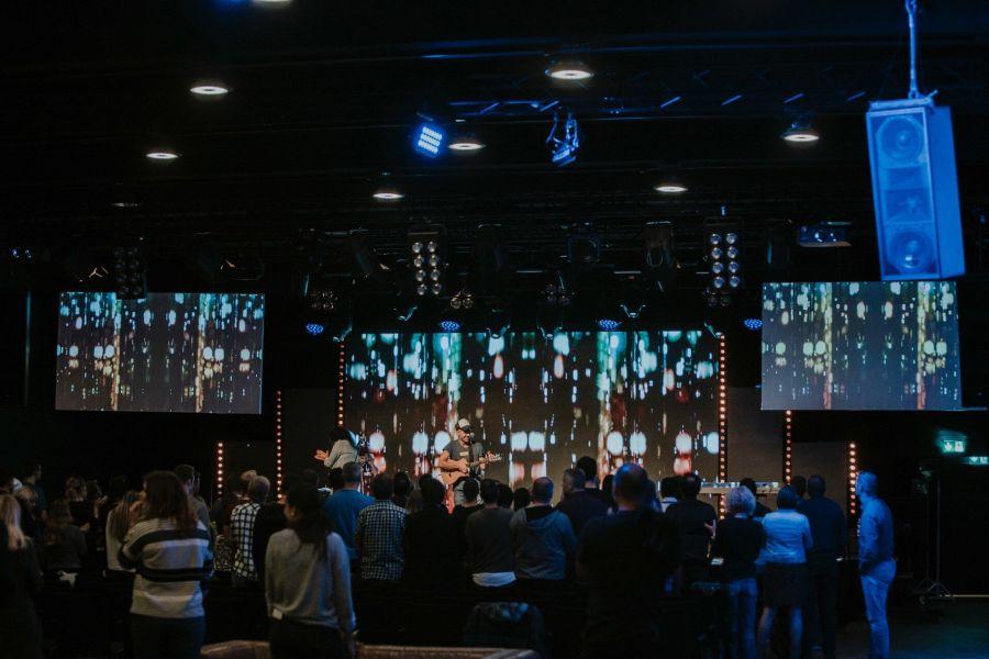 Club Raum in der Samsung Hall für Events Konzerte